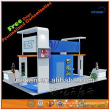 Portable custom made exhibition show booth trade show booth stand for leasing and sell in China