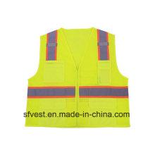 Mesh High Visibility Reflective Safety Vest