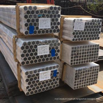 Tubo sem emenda expulso de alumínio