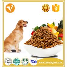 Embalaje exquisito natural de pollo orgánico sabor de comida para perros seco