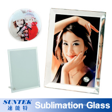 Various Shapes Sublimation Photo Frame Blank Crystal Glass