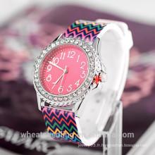 Montres promotionnelles nouvelles 2015 styles femme adolescent mode cadeau montre cadeau