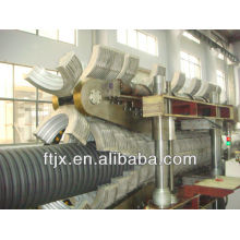 double-wall PE Corrugated Pipe Production Line