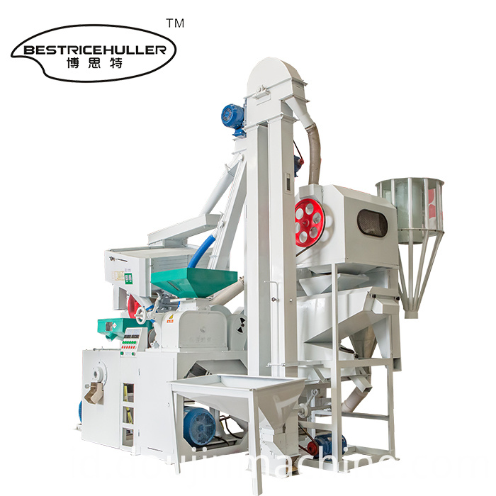 Auto Combined Rice Mill Machine