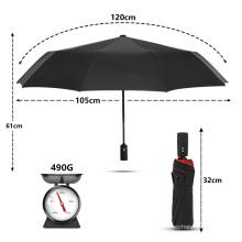 Windproof Double Automatic Folding Umbrella Female Male Ten Bone Car Luxury Large Business Umbrellas Men Rain Women Gift Parasol