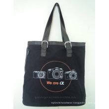 Digital Camera Tote Bag with PU Handles