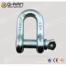 Estados Unidos tipo aleación acero galvanizado G210 D forjado tipo grillo