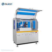 Mini card hole punching and impressing machine controlled by PLC system
