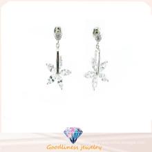 Neuer Entwurf und Art- und Weisefrauen Ohrring 925 silberne Schmucksachen (E6526)