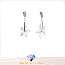 Nueva joyería de plata del pendiente 925 de la mujer del diseño y de la manera (E6526)
