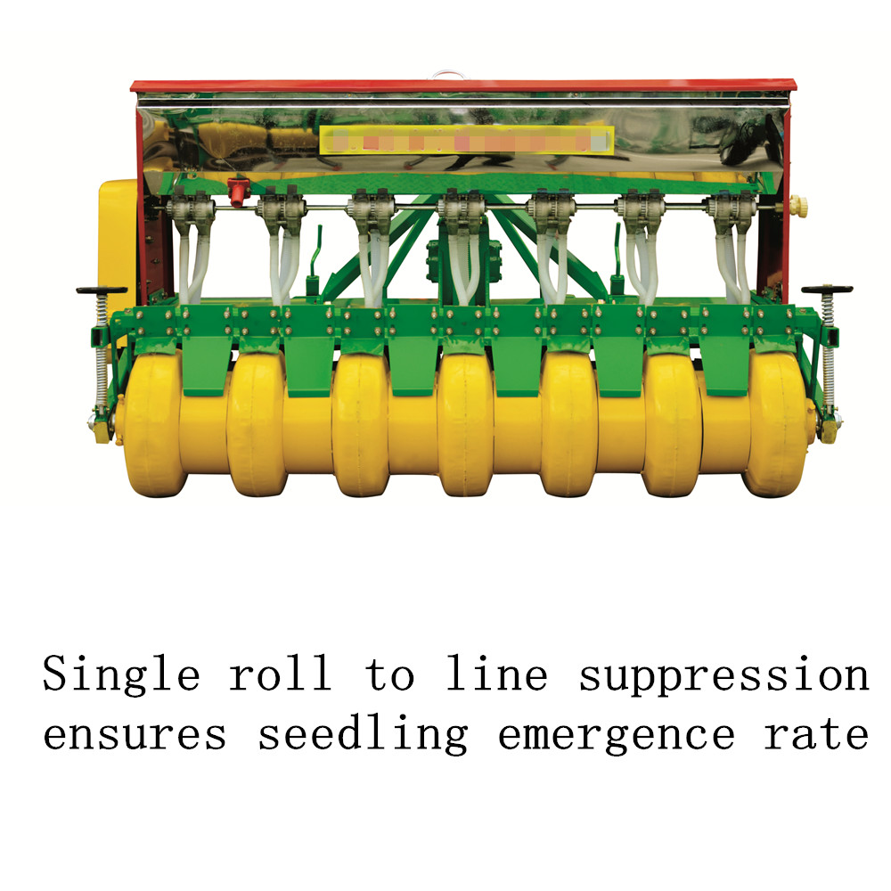disc wheat seeder