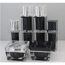 Квадратная роскошная косметическая упаковка Acrylic Jar 30мл 50мл 100мл