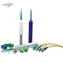 Nettoyeur de fibre optique de type stylo en un clic pour les connecteurs FC / SC / ST de 2,5 mm