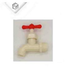 Grifería plástica blanca del grifo de la manija del ABS rojo