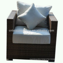 2013 new design comfort single rattan armrest sofa
