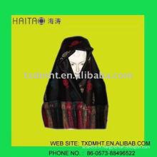 Chandail écharpe en mousseline de soie à la mode 2012 en hiver