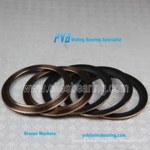 Bronze Washer,Brass collar bushing,PTFE coated thrust washer