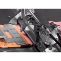 Máquina de coser en zigzag con hebilla trasera automática para sujetador
