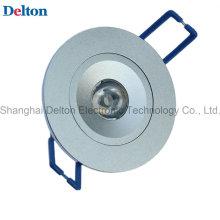 1W Dimmable lâmpada redonda do teto do diodo emissor de luz (DT-TH-1B)