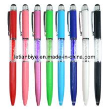 Высокий чувствительный bling Кристалл Стилус/ручка касания (ЛТ-Y156)