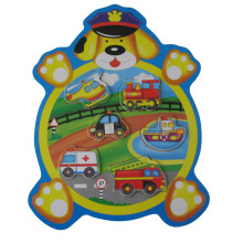 Wooden Animal Shaped Wooden Puzzle (34204A)