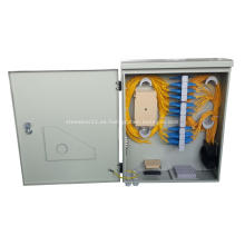 Gabinete de distribución de fibra óptica impermeable de 72 núcleos
