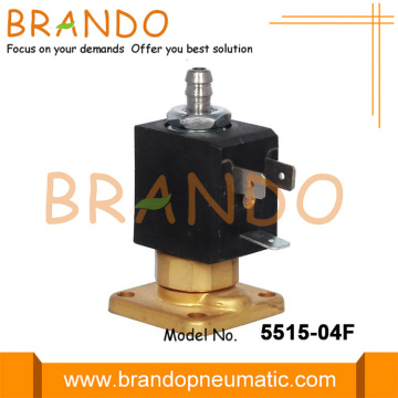 Injap Solenoid Rumah Tangga Flange Direct Acting Brass