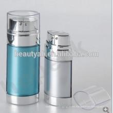 20ml 30ml 60ml botella airless de doble cámara