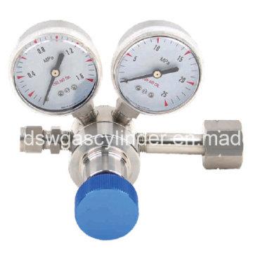 Argon Regulator Brass Single Stage Gas Regulator