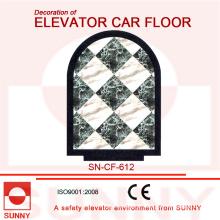 Mable-Line Floor para a decoração do assoalho do carro do elevador (SN-CF-612)
