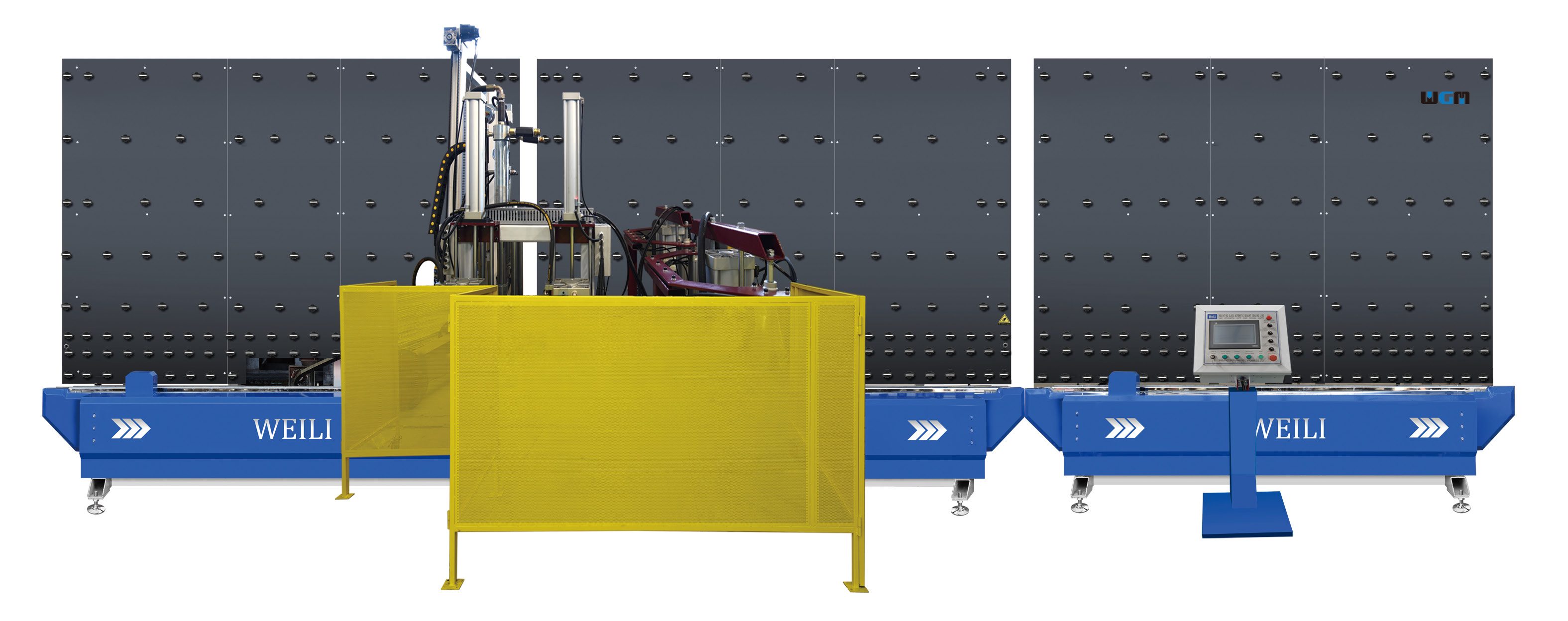 sealant sealing line for insulating glass