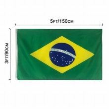 Brasilien Nationalflagge Polyester