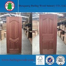 New Design Sapele Veneer HDF Door Skin