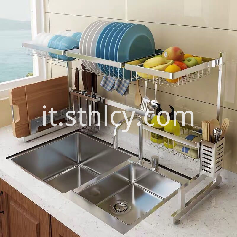 Convenient Stainless Steel Shelving