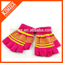 Acrylic knit custom kids gloves
