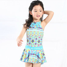 Kleine Mädchen Ruffeled Fashion Bademode