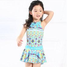 Little Girls Ruffeled Fashion Swimwear