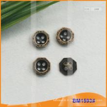 Bouton en alliage de zinc et boutons en métal et bouton de couture en métal BM1593