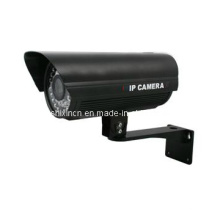Caméra IP HD 720p mégapixel caméra imperméable à l'eau caméra IR, extérieure avec vision nocturne IR caméra IP 30 m (IP-150H)