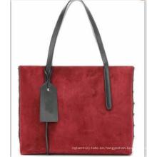 Bolsa de color doble material en el bolso (wzx21535)