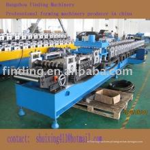 purlin de u dá forma à máquina com sistema de perfuração
