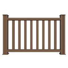 Anti-UV eco-friendly composite deck railing