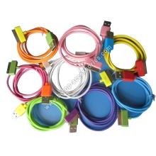 iPad iPhone iPod Colorful USB Data Cable