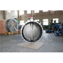 CF8 Double Flanged Butterfly Valve