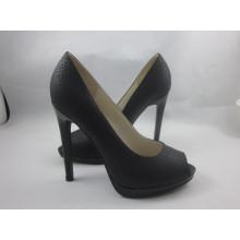 Neue Design Frauen Peep Toe Sandalen (HCY03-150)