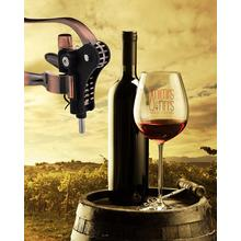 Vine Bottle Rabbit Ear Wine Opener
