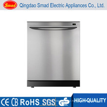 máquina de lavar louça profissional em aço inoxidável