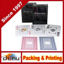 Poker Club Big Index Casino Impermeável Plástico PVC Playing Cards (431014)
