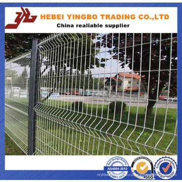 2015 Безопасность Безопасность забор для аэропорта / 50X200мм для аэропорта Сварной забор из проволочной сетки со стойкой