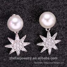 Wholesale Handmade 925 Silver Sterling Dangle Bridal Earring, Turkish silver Fashion Earring